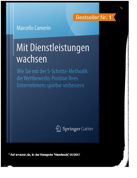 Mit Dienstleistungen erfolgreich wachsen Buch von Marcello Camerin
