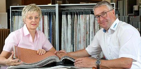 Geschäftsführer Nils Ciechowski mit seiner Frau Antje