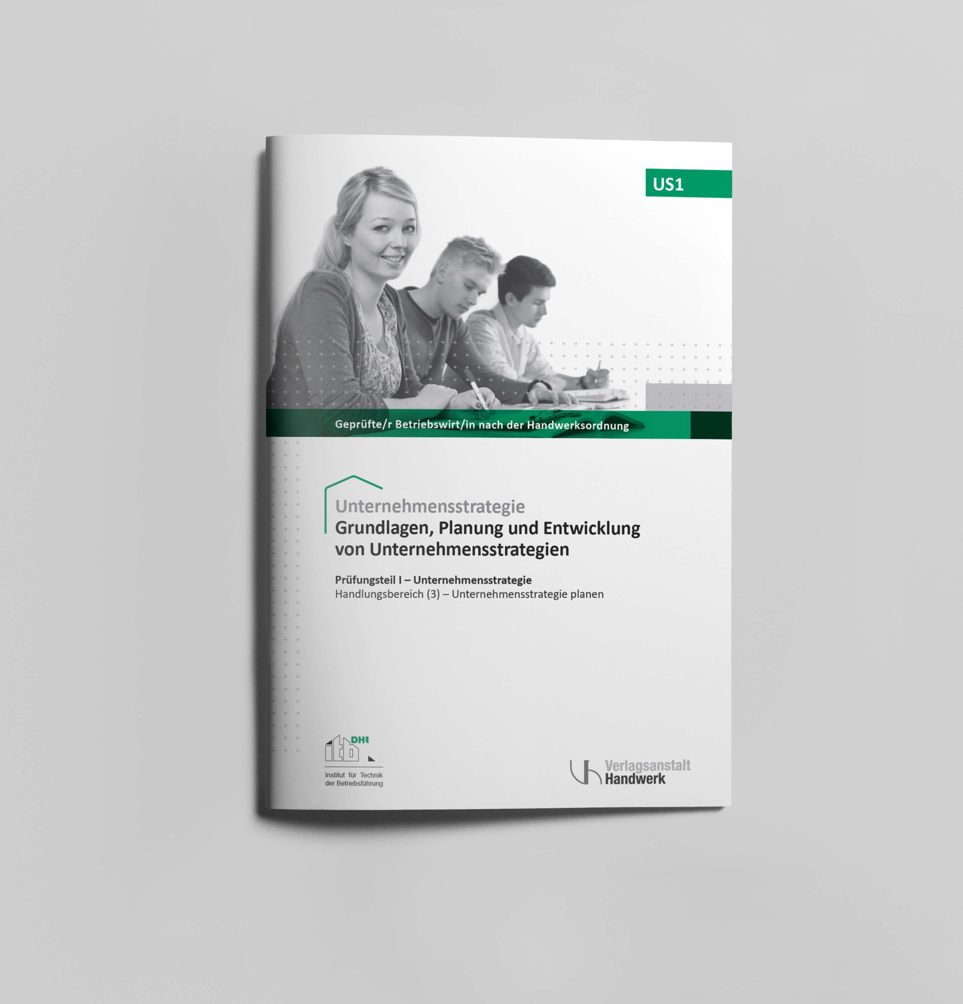 Unternehmensstrategie Buch Cover