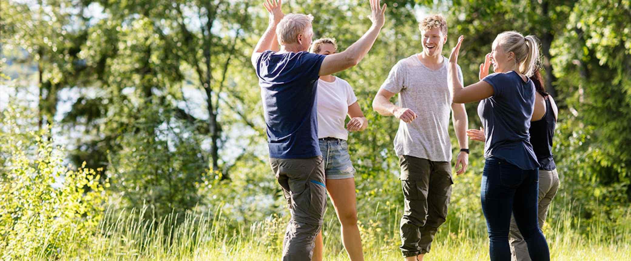 Outdoortraining: Teamleistung verbessern